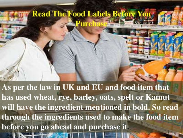As per the law in UK and EU and food item that has used wheat, rye, barley, oats, spelt or Kamut will have the ingredient ...