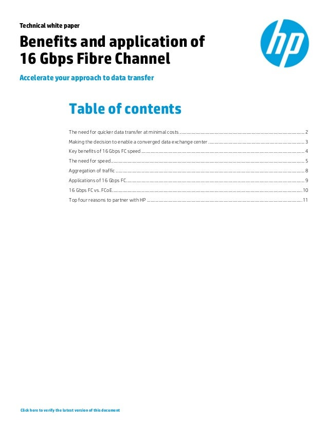 Benefits and Applications of 16 Gbps Fibre Channel