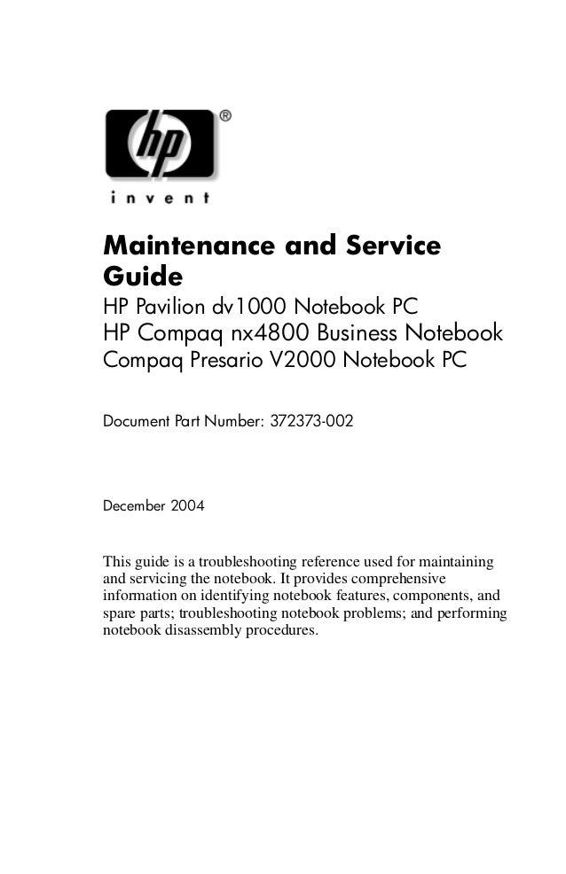 367795-001 HP CPU Fan Assembly Pavilion DV1000// V2000 Hewlett-packard