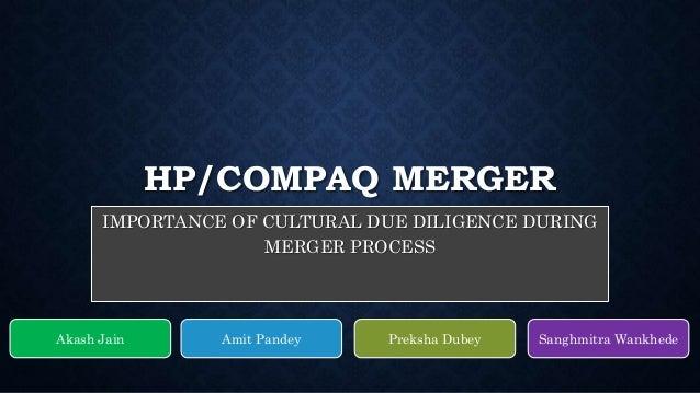 hp and compaq horizontal merger