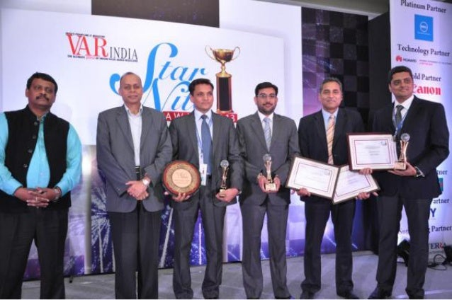 HP India receives Fastest Growing Networking solution at Star Nite Awards 2013