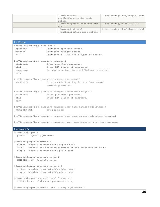Hp networking-and-cisco-cli-reference-guide june-10_ww_eng_ltr