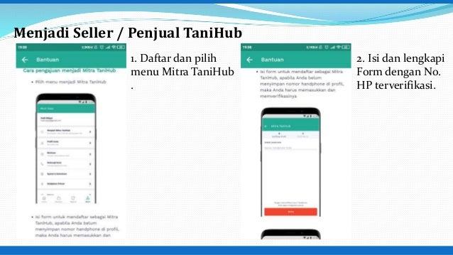 Aplikasi Pemasaran Tanihub