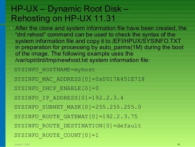 mailx configuration hp-ux serial number