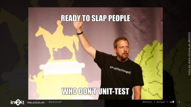 Dockerize your unit tests for faster feedback Slide 2