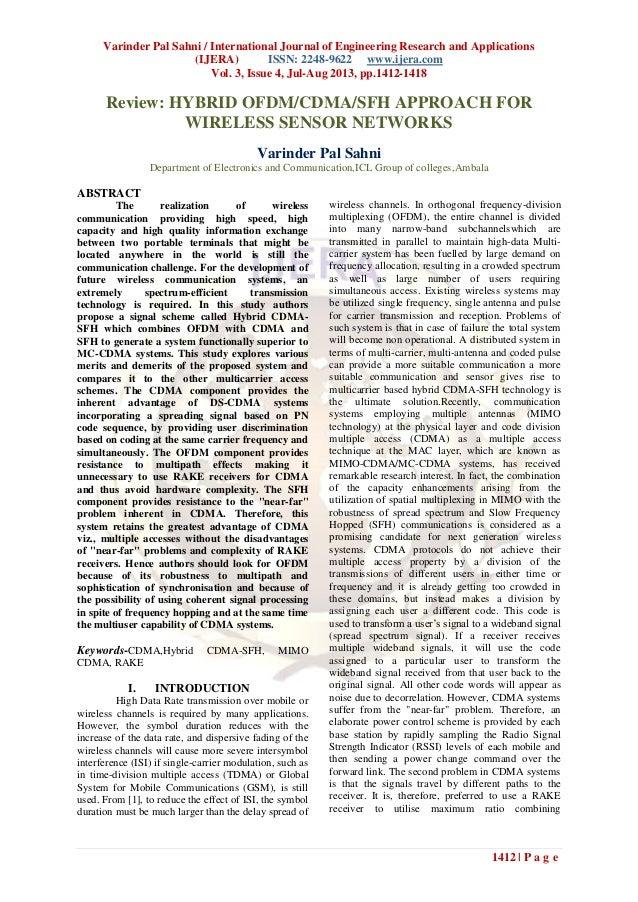 Varinder Pal Sahni / International Journal of Engineering Research and Applications (IJERA) ISSN: 2248-9622 www.ijera.com ...