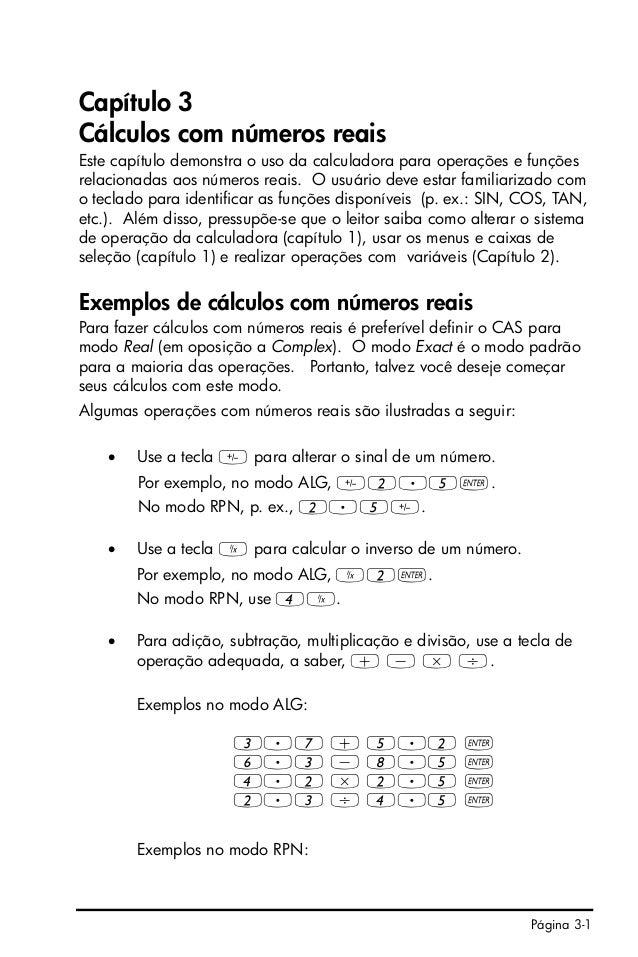 Hp 50g manual portugues pdf writer