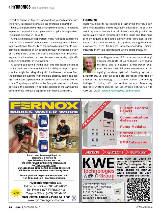Hpac Magazine Canada Features Detailed Article For