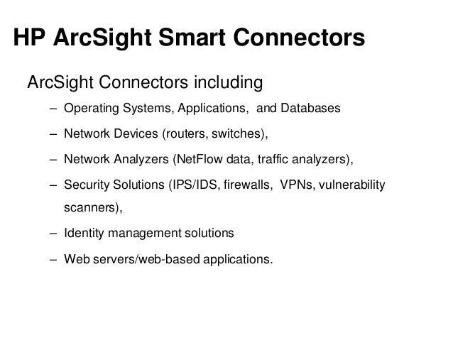 HP ArcSight Connectors