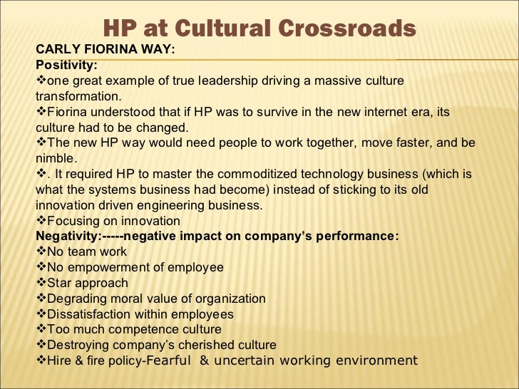 human resources at hewlett packard case study analysis Hewlett packard (hp) - restructuring & separation analysis while hewlett packard finance & pricing supply chain & quality human resources legal.