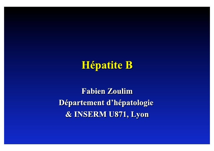 Natural history of hepatitis B                                                         Acute infection    Resolved    infe...