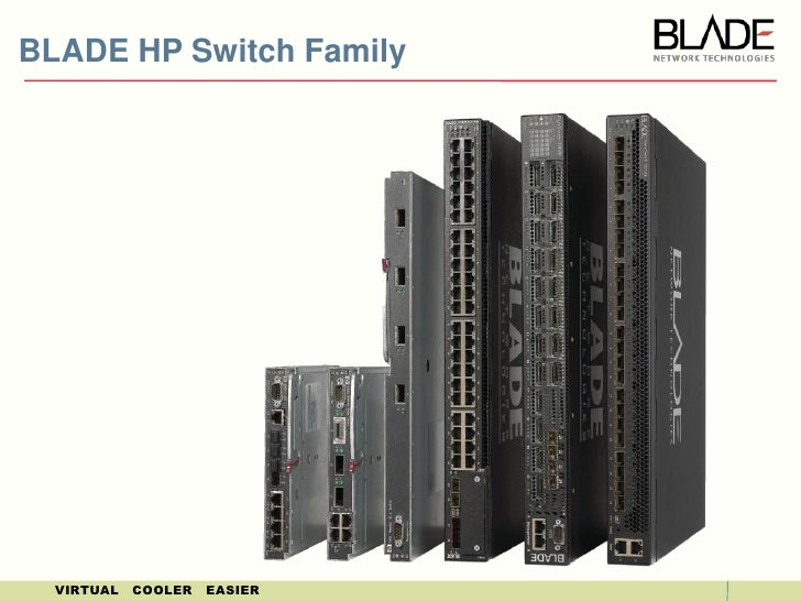 HP BladeSystem Interconnects<br />July 2010<br />
