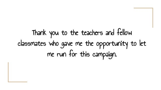 thank you speech for winning election