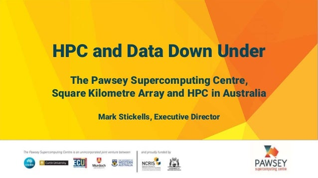 Video: The Pawsey Supercomputing Centre, SKA, and HPC in Australia