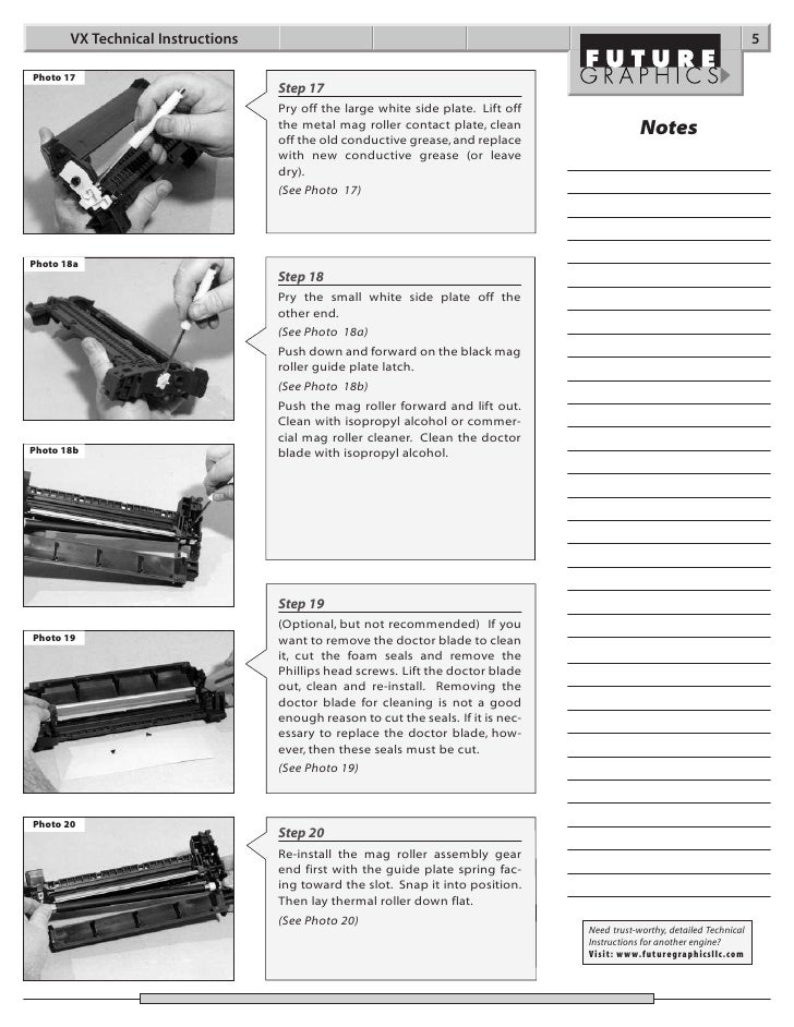 Manual de Recarga HP Canon VX C3903A