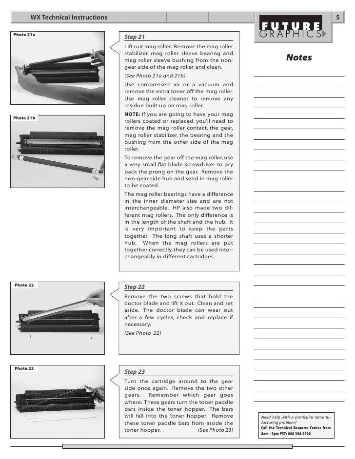 Manual de Recarga HP Canon WX C3909A.