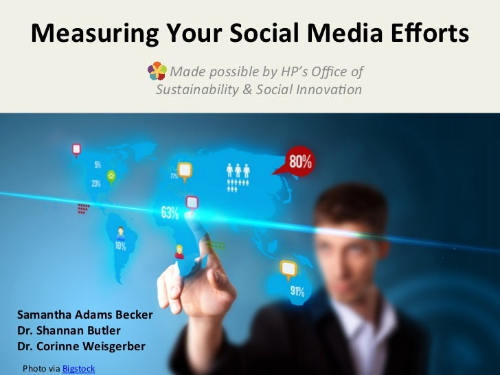 Measuring	  Your	  Social	  Media	  Efforts	                                  	  	  	  	  Made	  possible	  by	  HP's	  Offic...