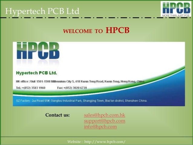 Hypertech PCB Ltd