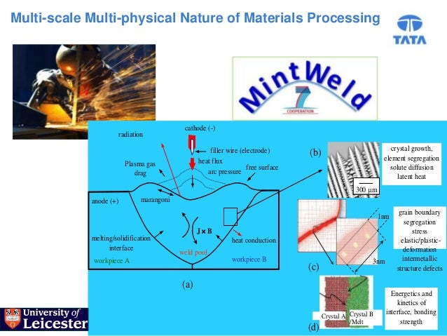 Multi-scale Multi-physical Nature of Materials Processing                                             cathode (-)         ...