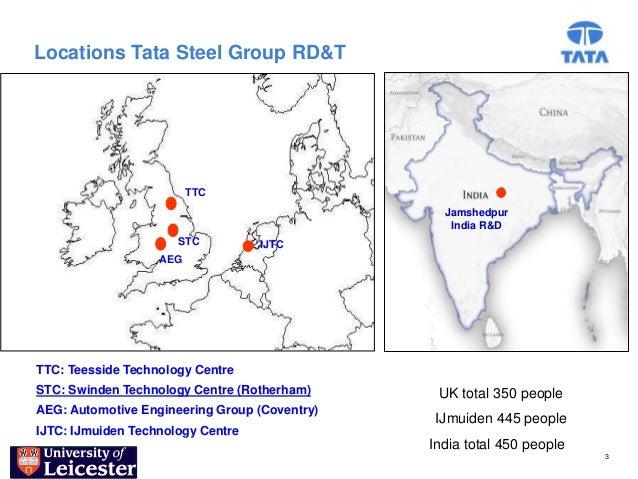 Locations Tata Steel Group RD&T                         TTC                                                 Jamshedpur    ...