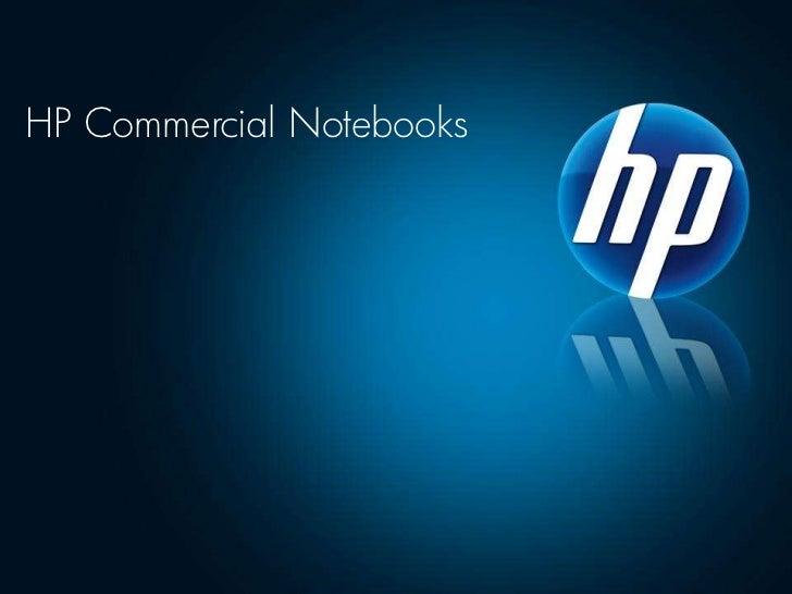 HP Commercial Notebooks