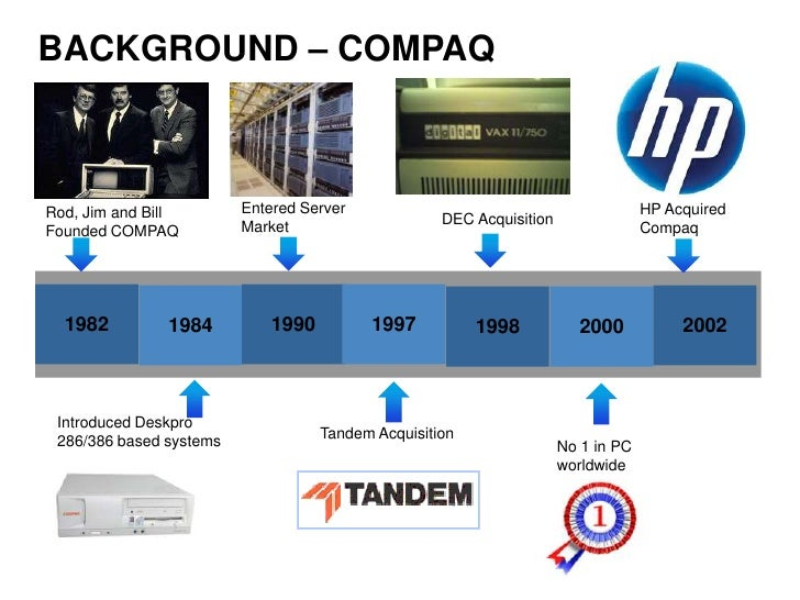 Hp and Compaq Merger
