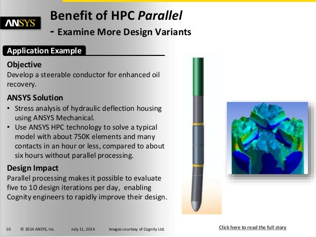 Hpc Parallel Computing For Fea Customer Examples 1 Of 4