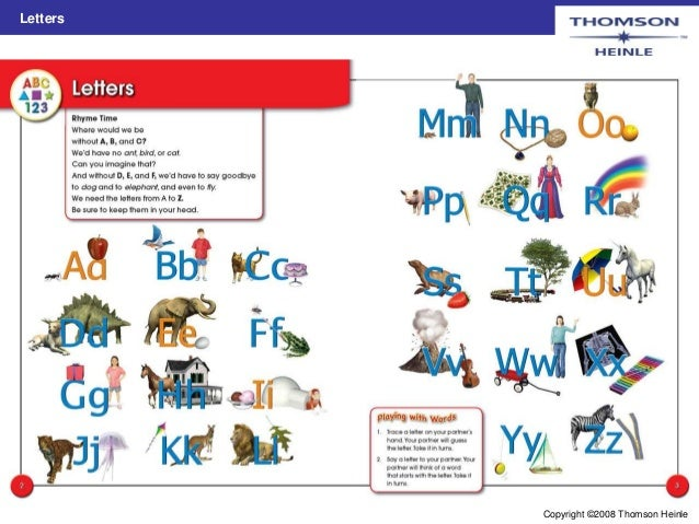 Picture dictionary for children Slide 3
