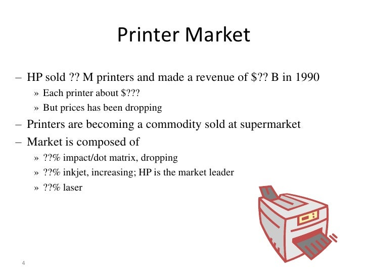 hp deskjet printer supply chain case study This case describes a challenge facing hewlett-packards (hp) vancouver  the  teaching purpose is to discuss inventory analysis and / or to discuss the  organizational challenges companies face in implementing supply chain  solutions.