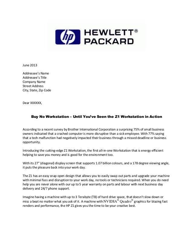 Perfect Hewlett Packard Email Format