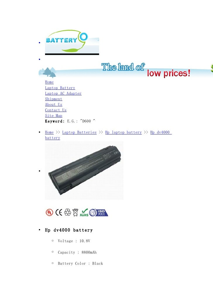 •    •         Home     Laptop Battery     Laptop AC Adapter     Shipment     About Us     Contact Us     Site Map     Key...