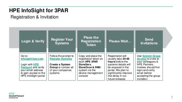 HPE InfoSight for 3PAR quickstart shortened v1