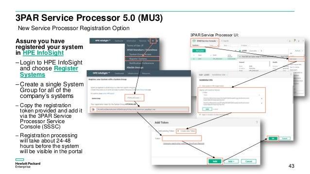 HPE InfoSight for 3PAR quickstart v1 2