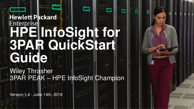 HPE HPE InfoSight for 3PAR quickstart v1 4