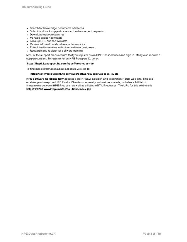 Hpe data protector troubleshooting guide 3 l sciox Image collections