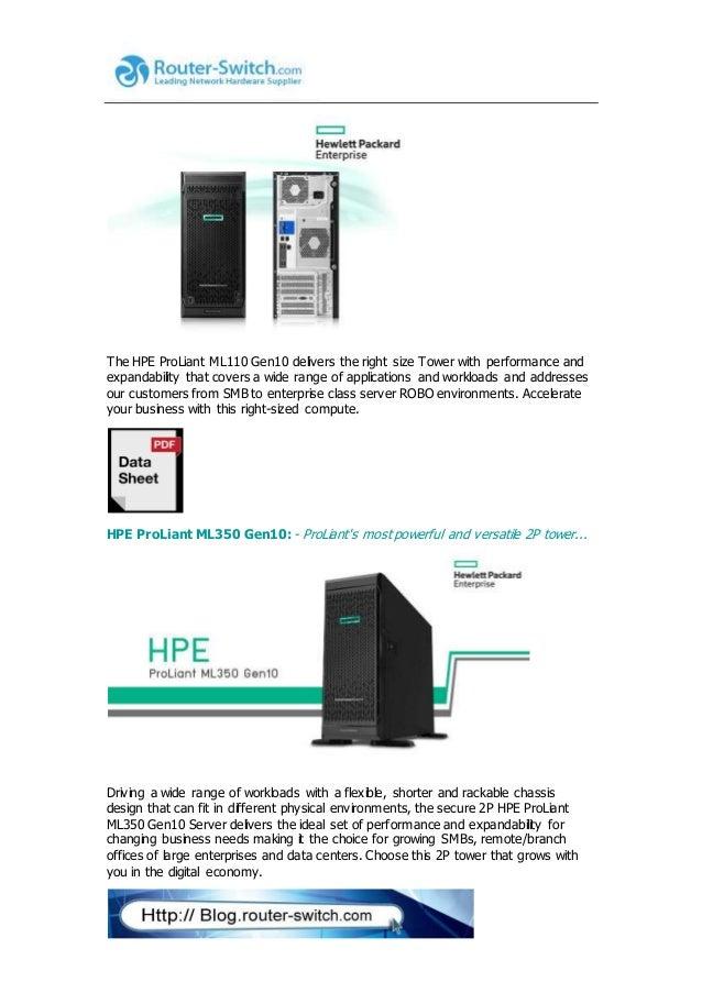 Hpe pro liant gen9 to gen10 server transition guide