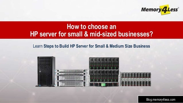 How to build a small server computer