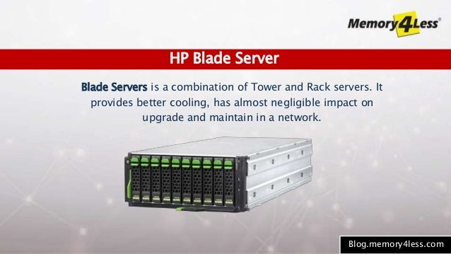 7 Blade Servers Is A Combination Of Tower And Rack