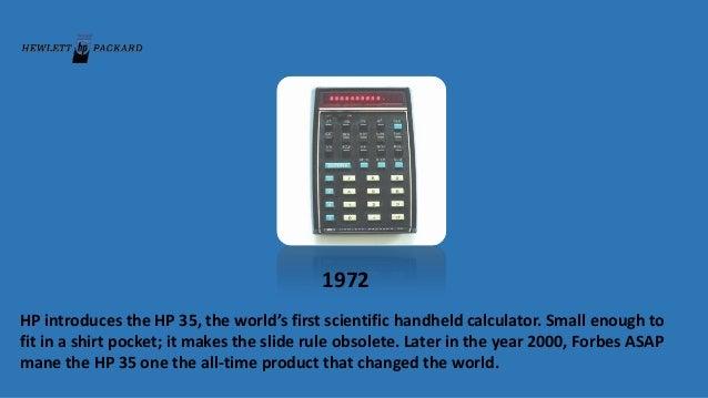 Hewlett Packard Evolution