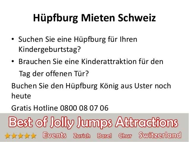 Hüpfburg Mieten Schweiz • Suchen Sie eine Hüpfburg für Ihren Kindergeburtstag? • Brauchen Sie eine Kinderattraktion für de...