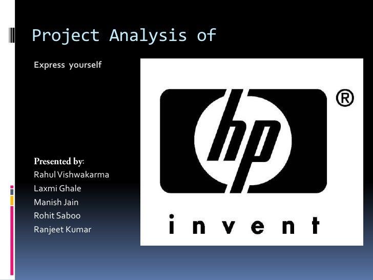 hp deskjet case study analysis