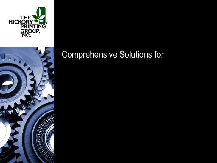 Comprehensive Solutions for