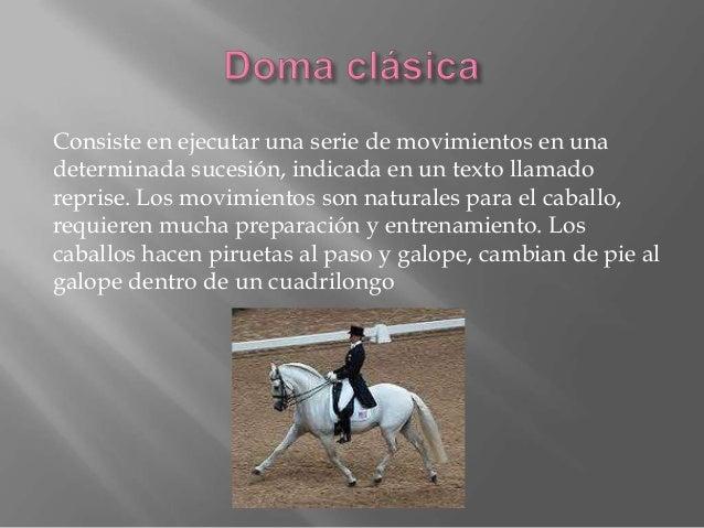 Esta disciplina agrupa en una competición las disciplinas de DOMA CLÁSICA, SALTOS EN PISTA Y CROSS .Se disputa en de tres ...