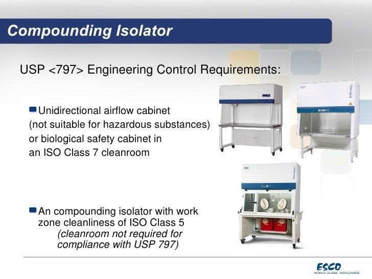 Hospital Pharmacy Isolator Solutions For Usp Compliance F