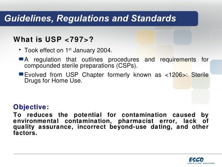 Usp 797 Guidelines Beyond Use Dating