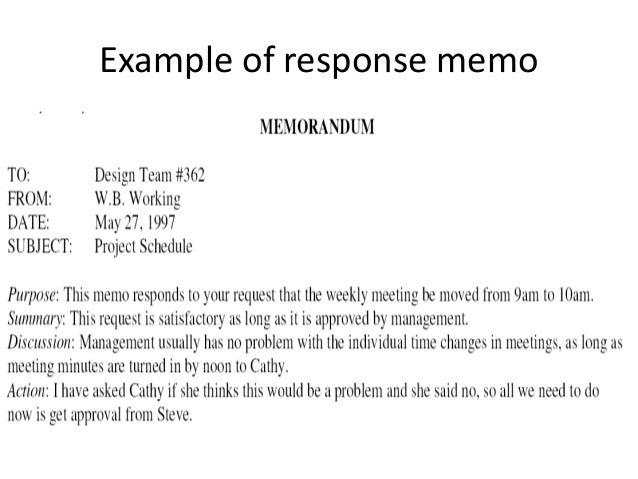 10e memorandum 11 example of response memo spiritdancerdesigns Image collections
