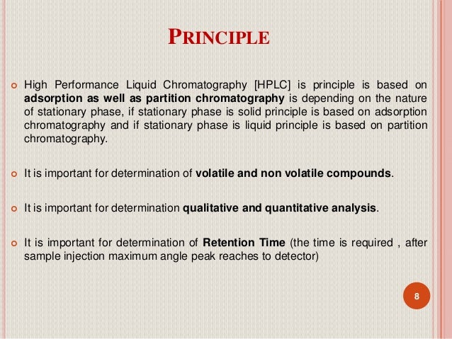 uses of hplc chromatography Hplc