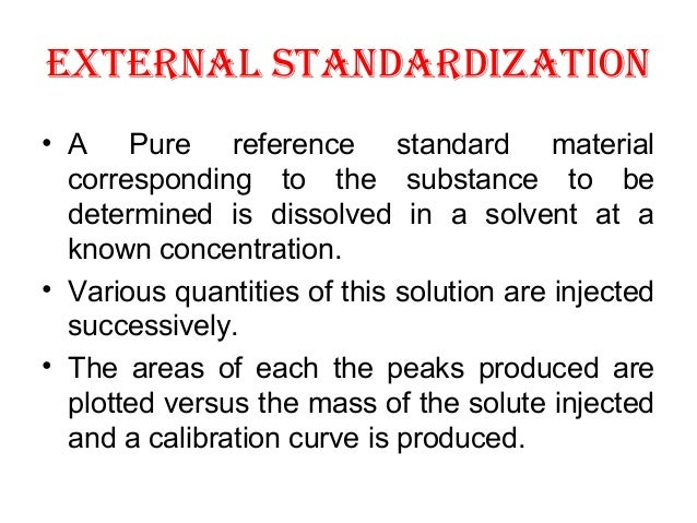 how to choose internal standard for hplc
