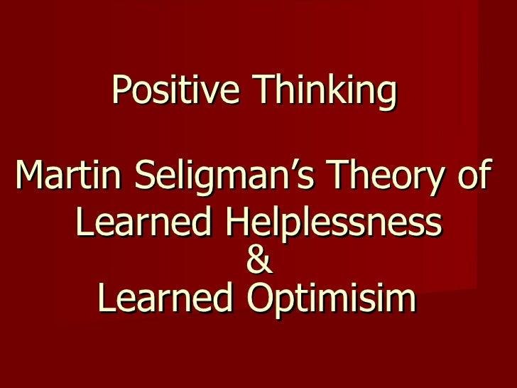 Seligman's theory of preparedness