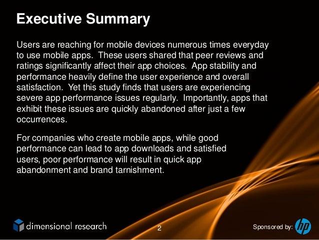 HP Mobile App Usage Survey Slide 2